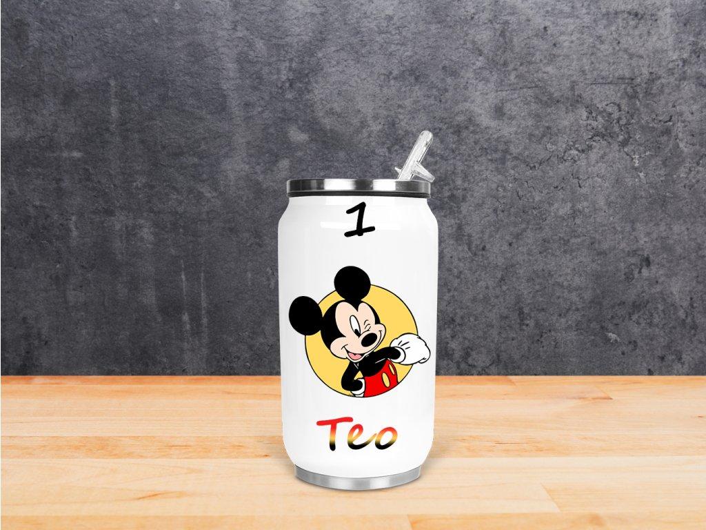 """Termoláhev """"Mickey mouse"""" cca 270ml"""