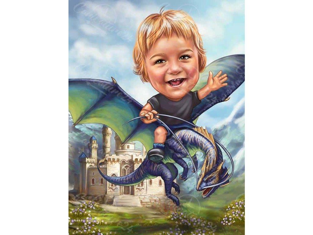 karikatura za momche s drakon