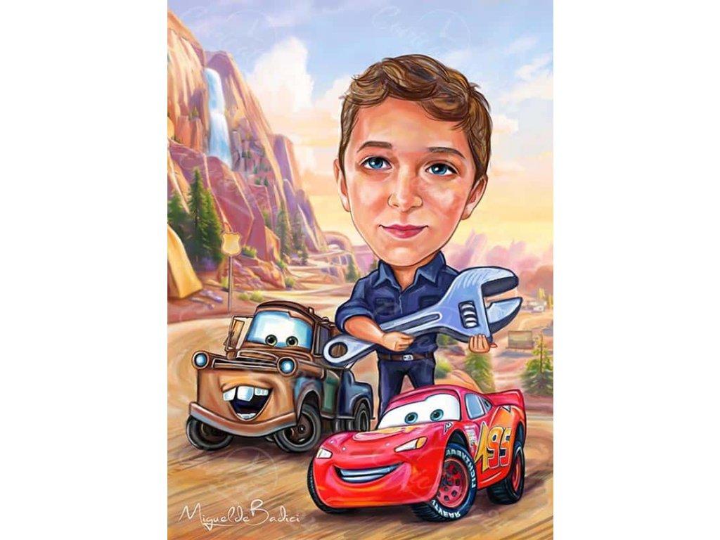 karikatura za momche s kola