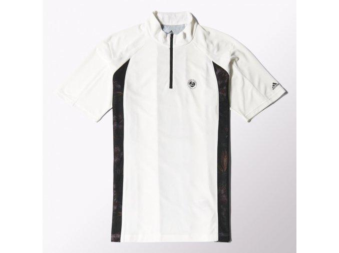 Adidas RGY3  1/2  ZIPTEE (Barva Bílá, Velikost L)