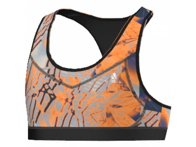 Adidas Techfit (Barva Oranžová-Černá, Velikost 170)