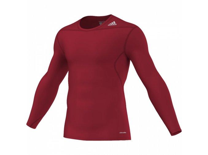 Adidas TF BASE LS (Barva Červená, Velikost S)