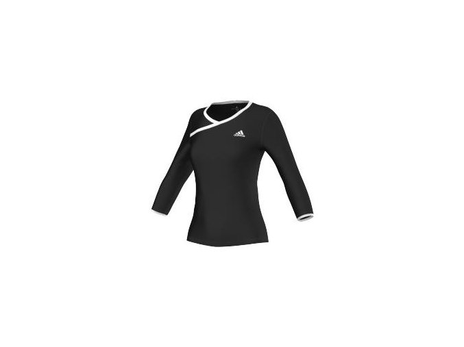 Adidas TS 3/4 Sleeve (Barva Černá, Velikost L)