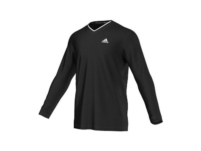 Adidas TS ENG LS TEE (Barva Černá, Velikost XL)
