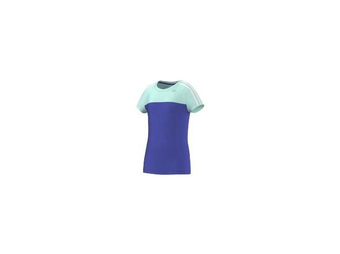 Adidas YG CT BTS TEE (Barva Modrá, Velikost 140)