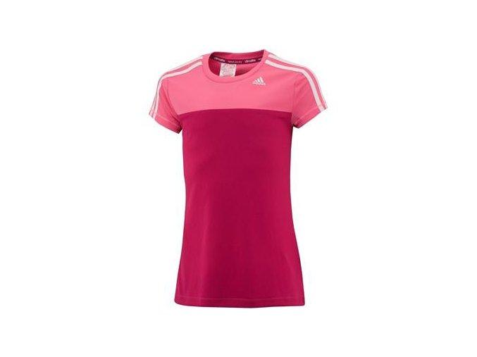 Adidas YG CT BTS TEE (Barva Červená, Velikost 164)