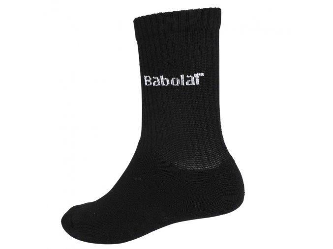 Babolat 3 Pairs pack Socks (Barva Černá, Ponožky velikost 47-50)