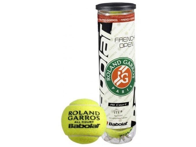 Babolat Ball French Open All Court (Počet kusů v balení 4 ks)
