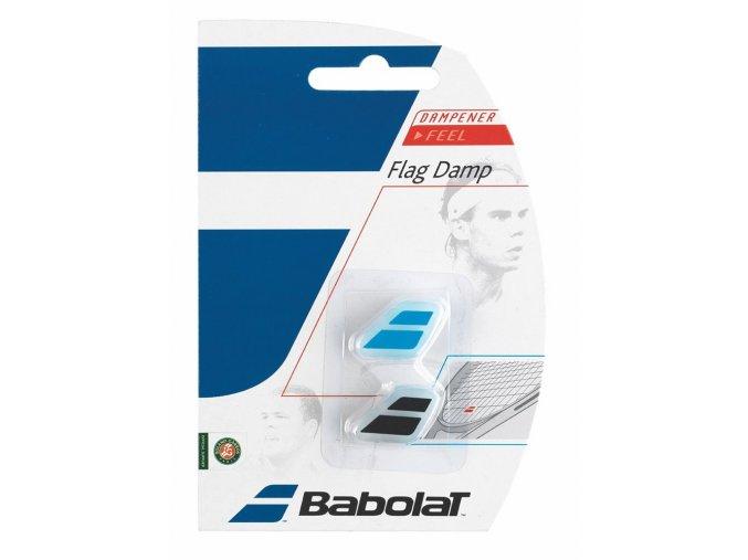 Babolat Flag Damp (Barva Pink/White, Počet kusů v balení 2 ks)