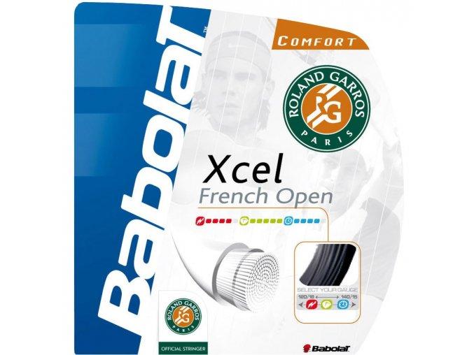 Babolat XCEL French Open - 12m (Barva Black, Tloušťka 1,30)