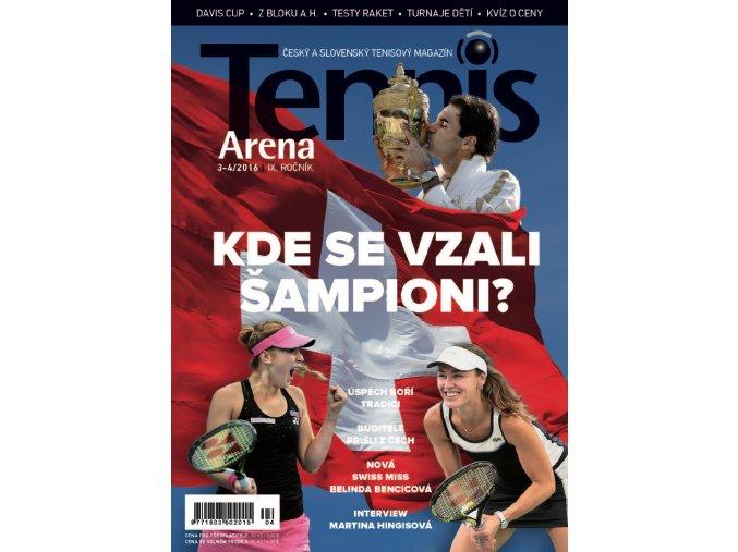 Tennis Arena 3-4/2016