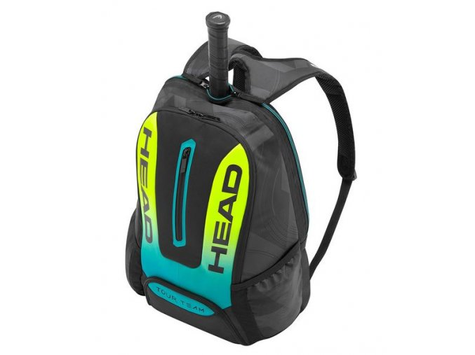 head tasky extremebackpack black yellow