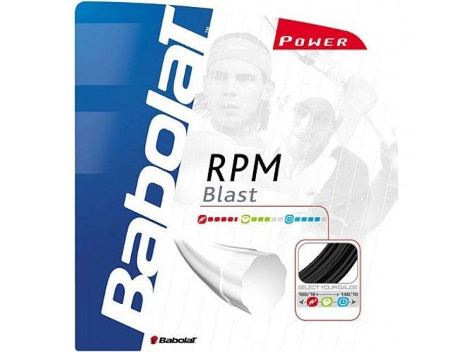 Babolat RPM Blast - 12m (Barva Black, Tloušťka 1,35)