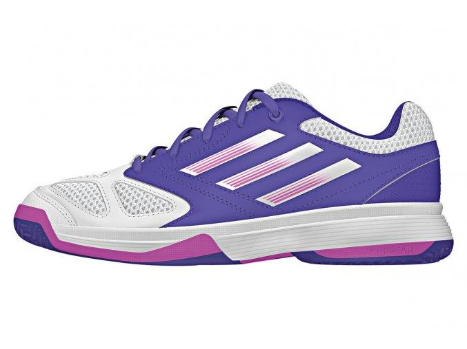 Adidas Feather Team 3 xJ - Purple (Velikost UK13.5K)