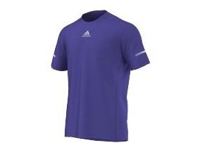 Adidas Run Tee, Night Flash (Barva Modrá, Velikost M)