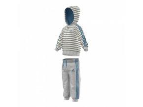 Adidas Winter Hooded Jogger (Barva Modrá, Velikost 104)