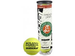 Babolat Ball French Open All Court (Počet kusů v balení 4 ks)