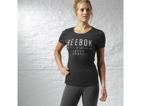 Reebok SSG LOGO TEE (Barva Černá, Velikost XL)