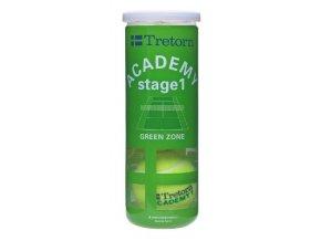 Tretorn Academy Green (Počet kusů v balení 3 ks)