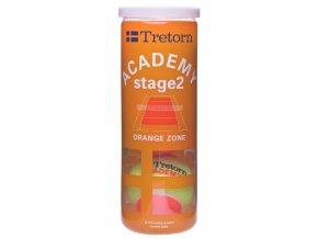 Tretorn Academy Orange (Počet kusů v balení 3 ks)