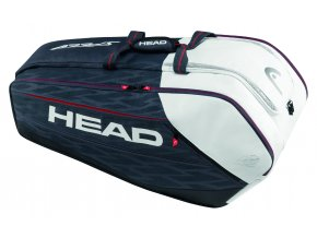Head Djokovic 12R Monstercombi (Barva Black/White)