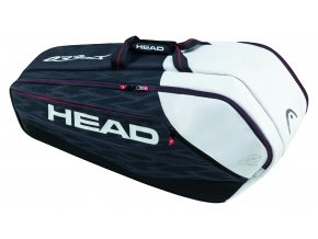 Head Djokovic 9R Supercombi (Barva Black/White)