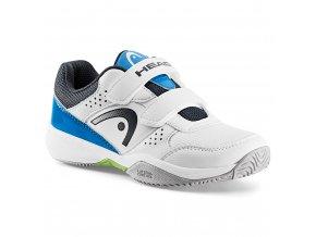 Nzzzo Velcro Kids (Barva white/blue, Velikost UK 11K)