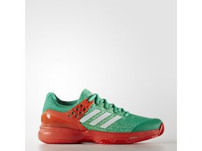 Adizero Ubersonic 2 W Clay (Barva green/red, Velikost UK 7.5)