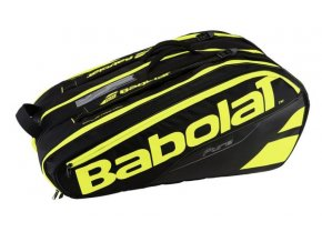 bab tasky racketholder X12 black yellow