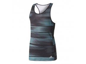 Adidas G ADV. TR TANK (Barva Black/Clear Onix/Energy Aqua, Velikost 164)
