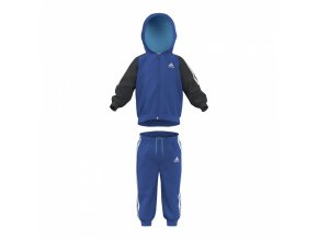 Adidas Jogger Sets Woven Hooded Suit Blue (Velikost 98)