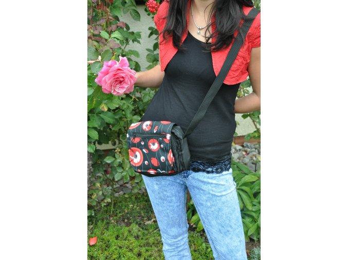 Květinová taška na doklady