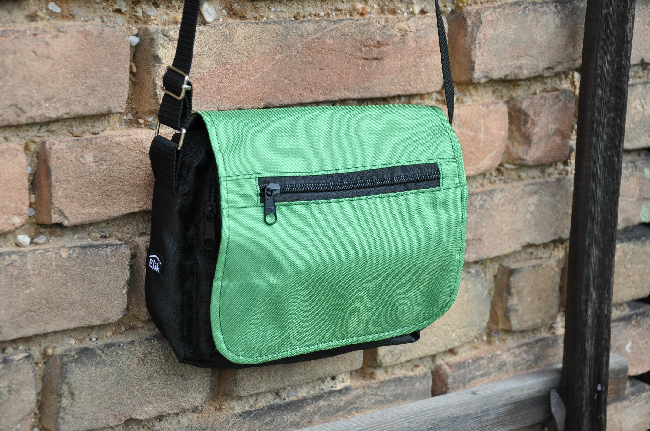 Taška na doklady jednobarevná Barva: Zelená