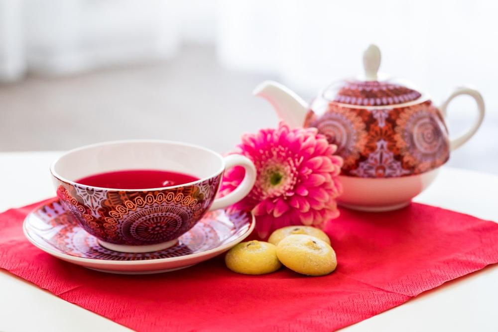 Čajovou soupravou Tea for one potěšíte každou romantickou duši