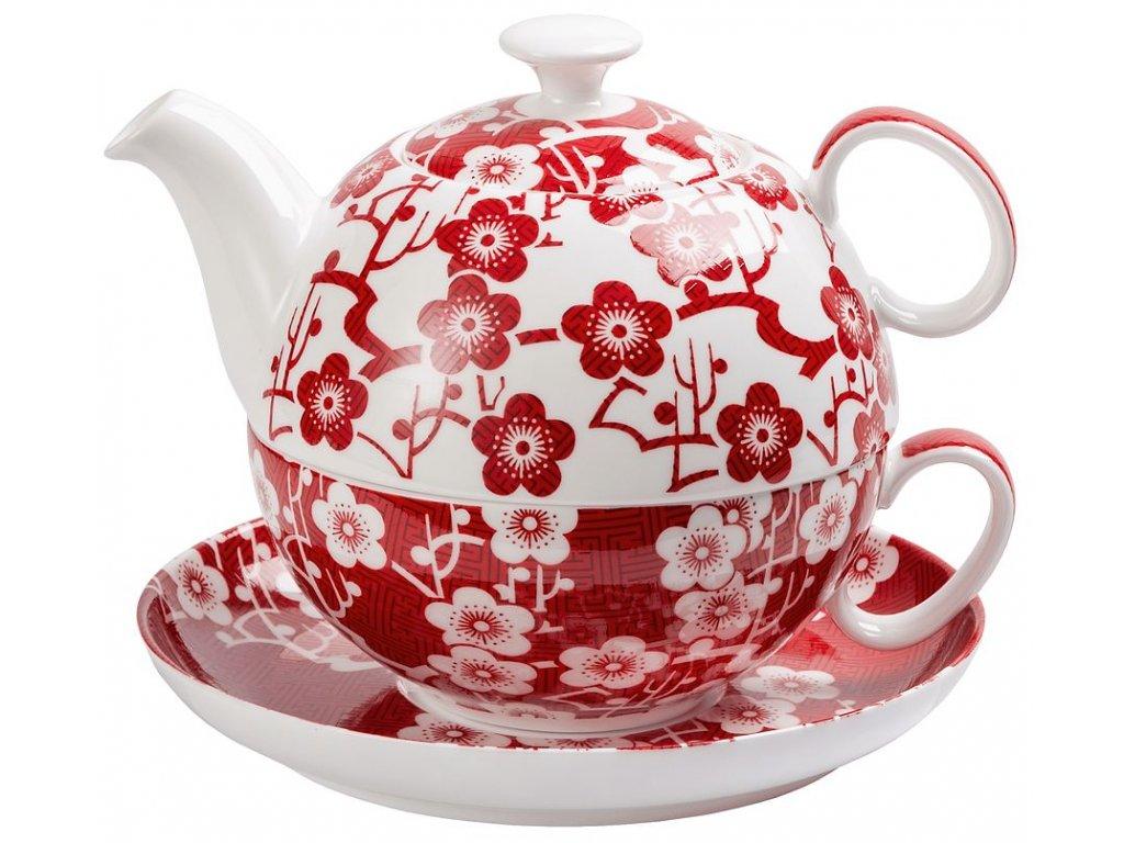 Sakura - bone china tea for one, čajová  porcelánová souprava 0,3 l/0,5 l