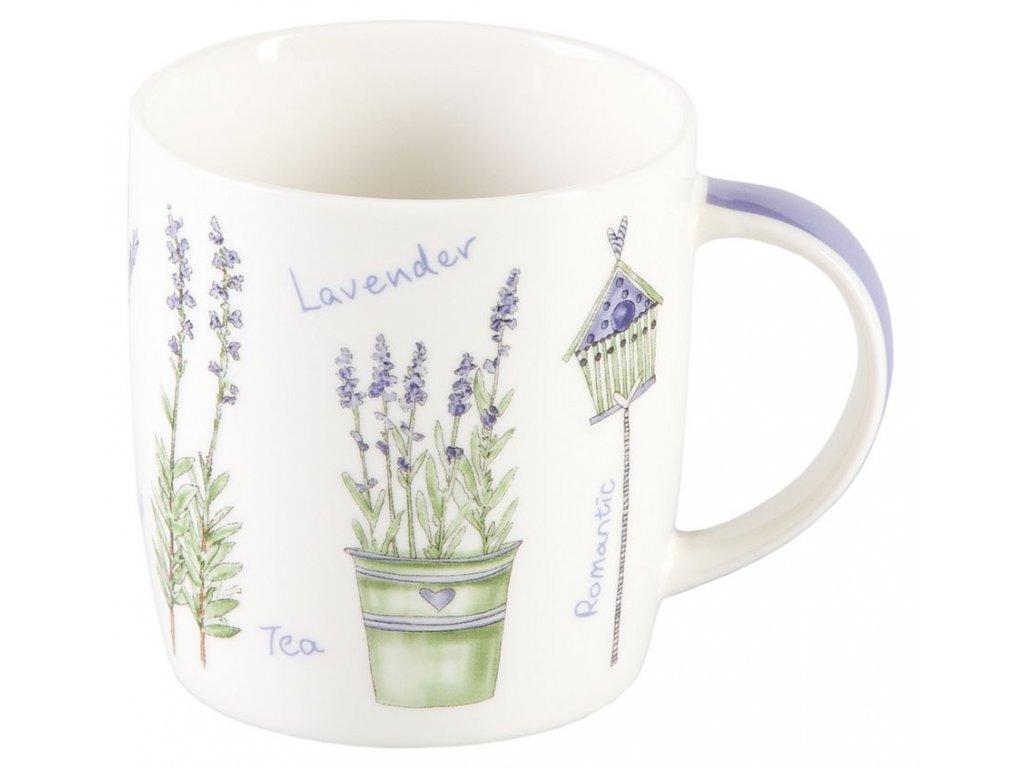 Lavendel - porcelánový hrnek 0,25 l
