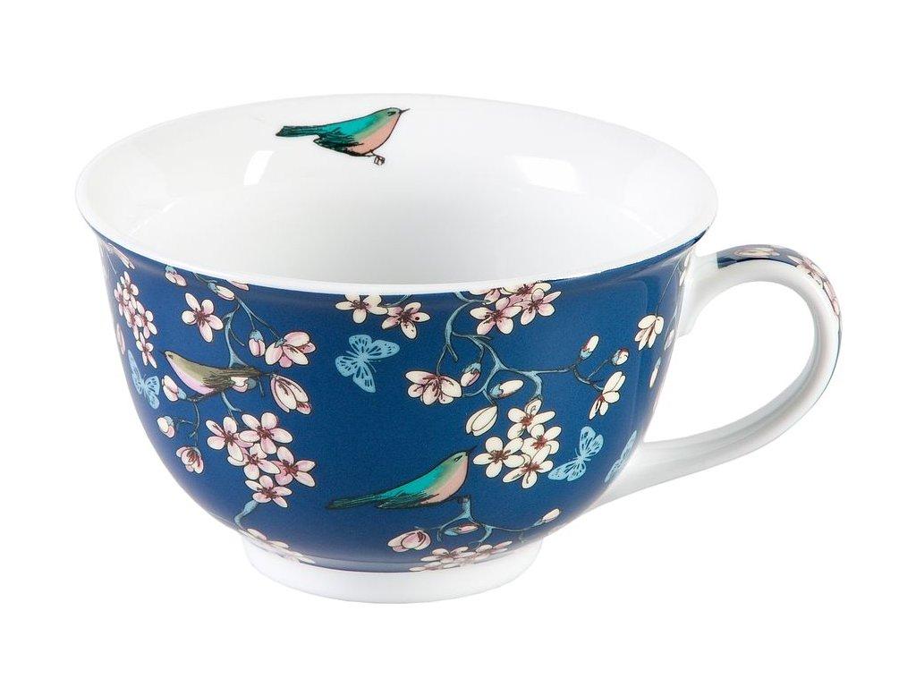 Nessie - porcelánový jumbo hrnek 0,45 l, modrý