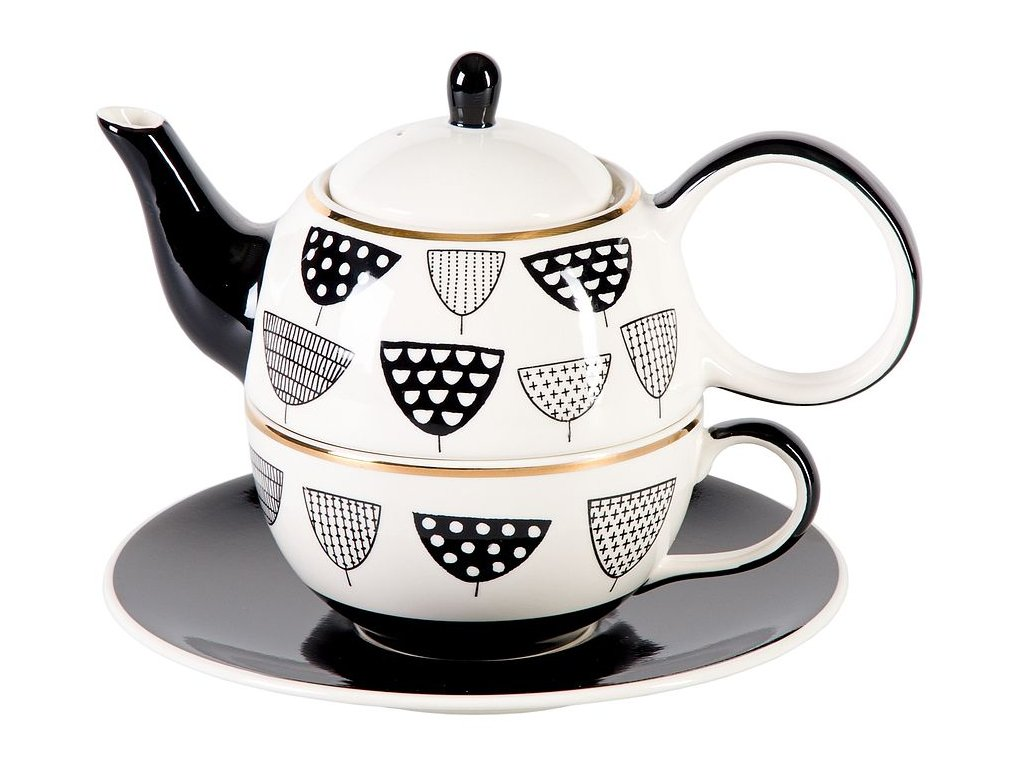 Osias - keramická čajová souprava 0,2 l/0,4 l, tea for one