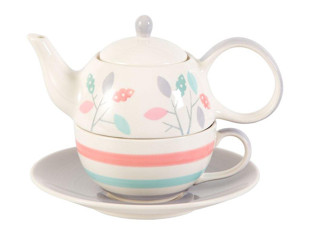 dahlia-cajova-souprava-tea-for-one-chacult-rucne-malovana-jemne-barvy-listky