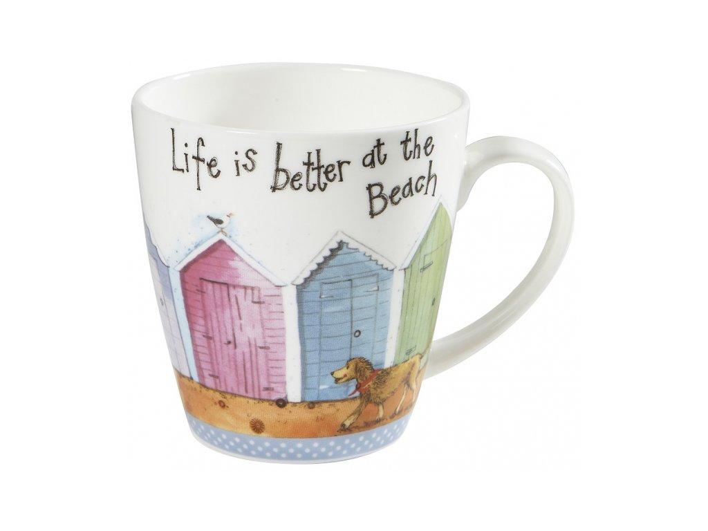 Life is better - porcelánový hrnek 0,36 l, Alex Clark