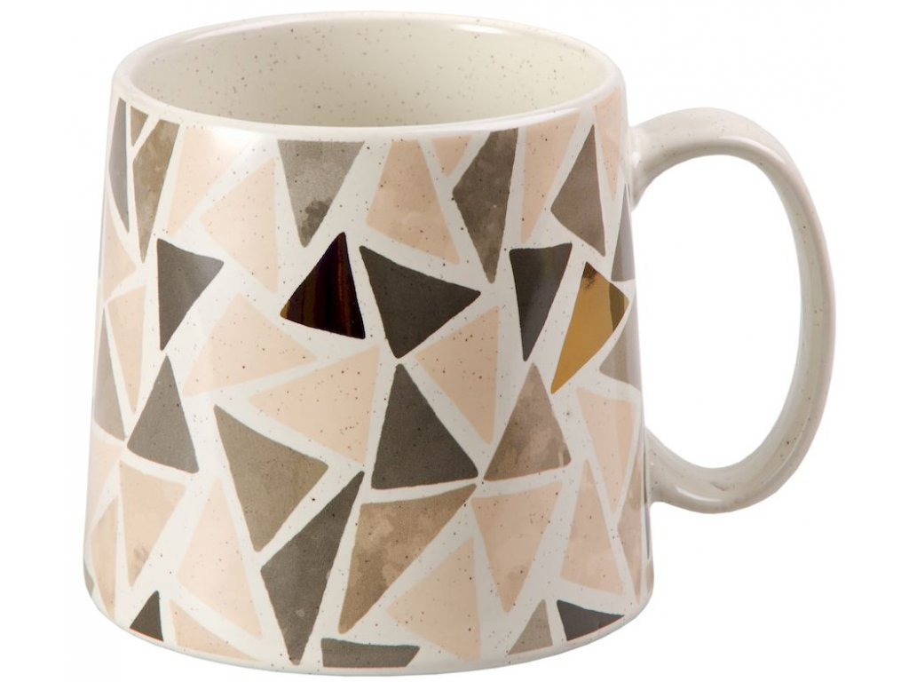 Janina - keramický hrnek 0,45 l, mozaika