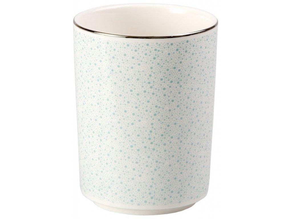 Hella - porcelánový hrnek bez ouška 0,2 l, tečky