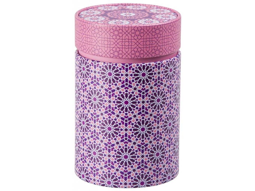 Andalusia - plechová dóza 150 g, růžová