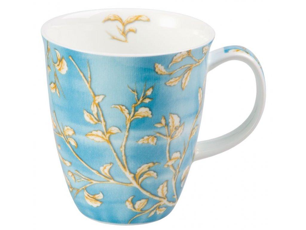 Enya - Fine Bone China porcelánový hrnek 0,35 l, modrý