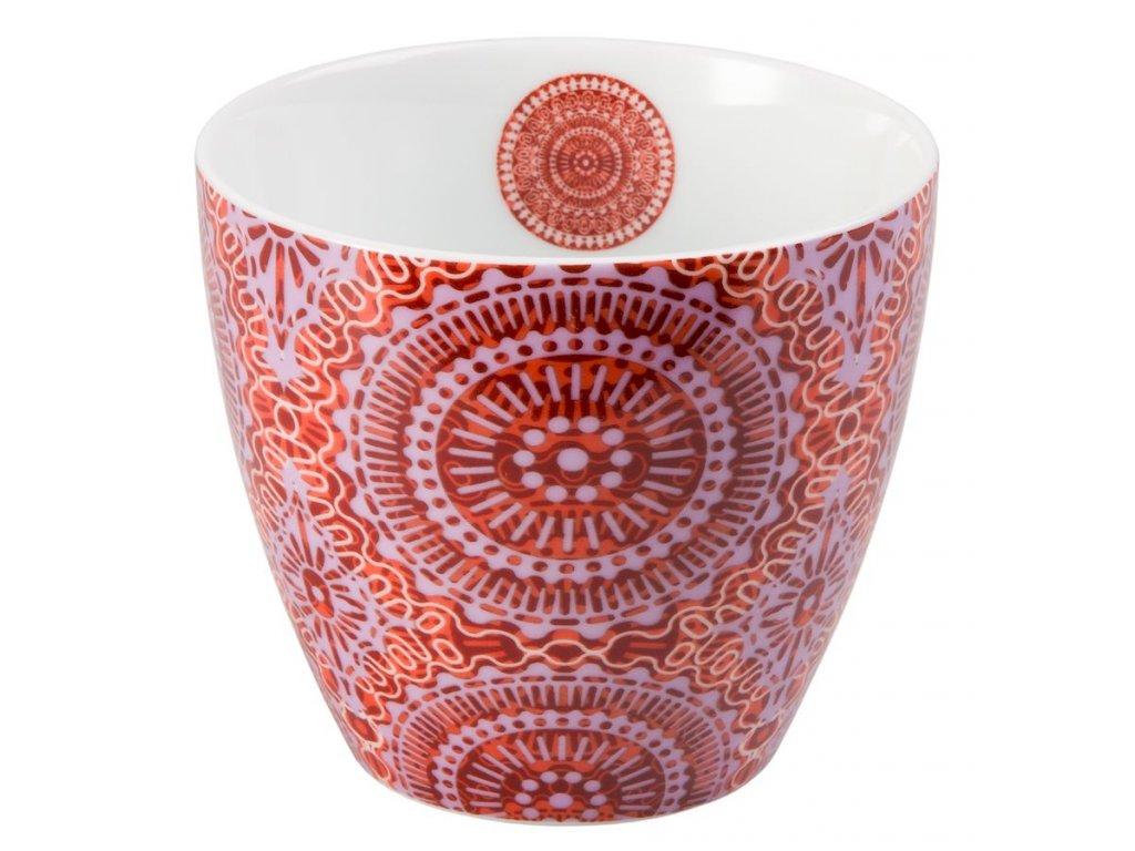Sonji - Fine Bone China porcelánový hrnek bez ucha, 0,3 l, mandaly