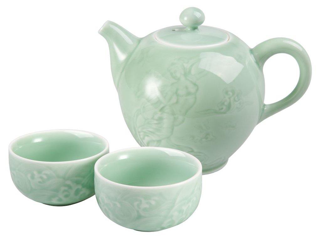 Hashi - porcelánová čajová souprava 0,24 l/0,06 l