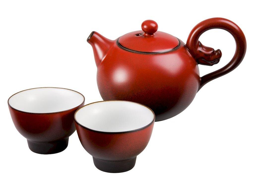 Lava - porcelánová čajová souprava 0,2 l/0,06 l