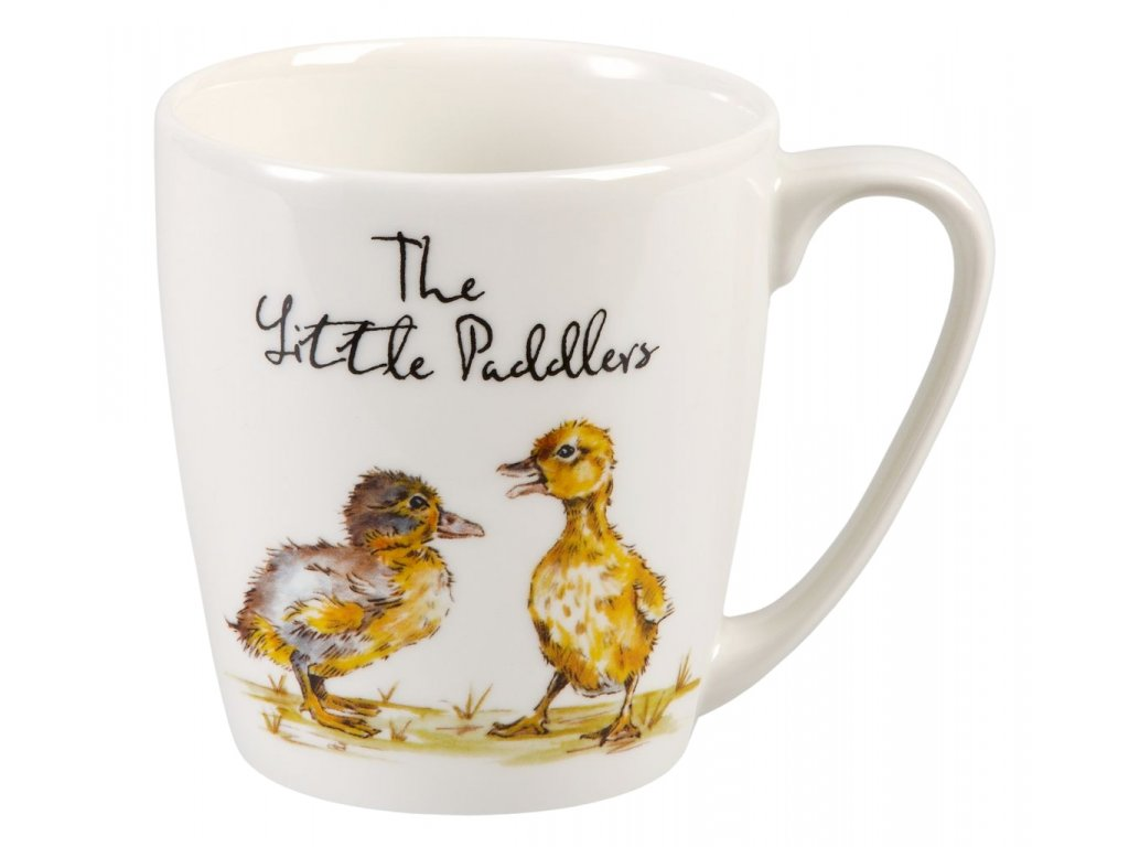 The Little Paddlers - Fine China, porcelánový hrnek 0,3 l, kačenka, vodák