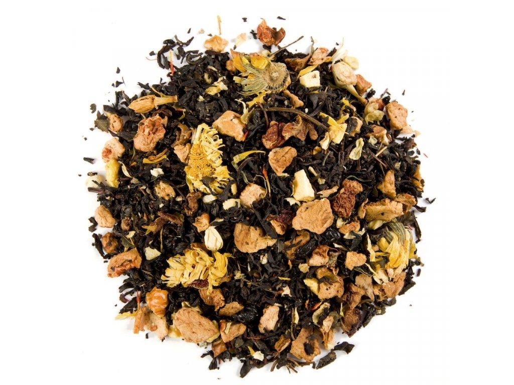 Medová mučenka - aromatizovaný sypaný černý čaj 80 g