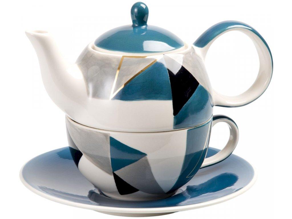 Caspian - keramická čajová souprava 0,2 l/0,4 l, tea for one
